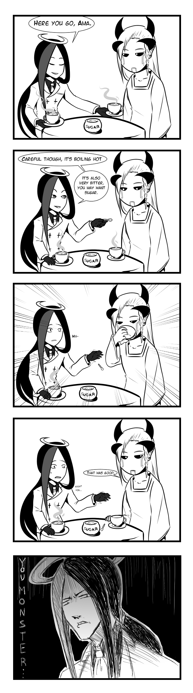 Elan: Tea manners by MarchingSIN