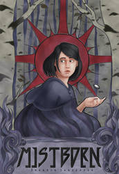 Mistborn Mock Book Cover