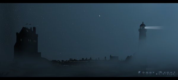 Foggy Night by AfricAShoX