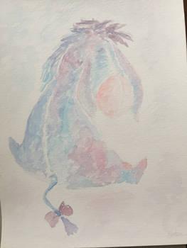Eeyore watercolor
