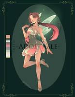 {CLOSED} Adoptable Spring Fairy 02 by NikaInfinity