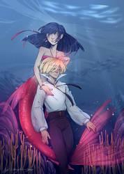 Mlb zine 'Mermaid Melody AU'