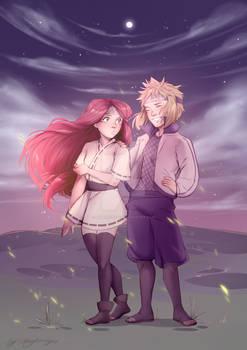 Little Shinobi Minato and Kushina