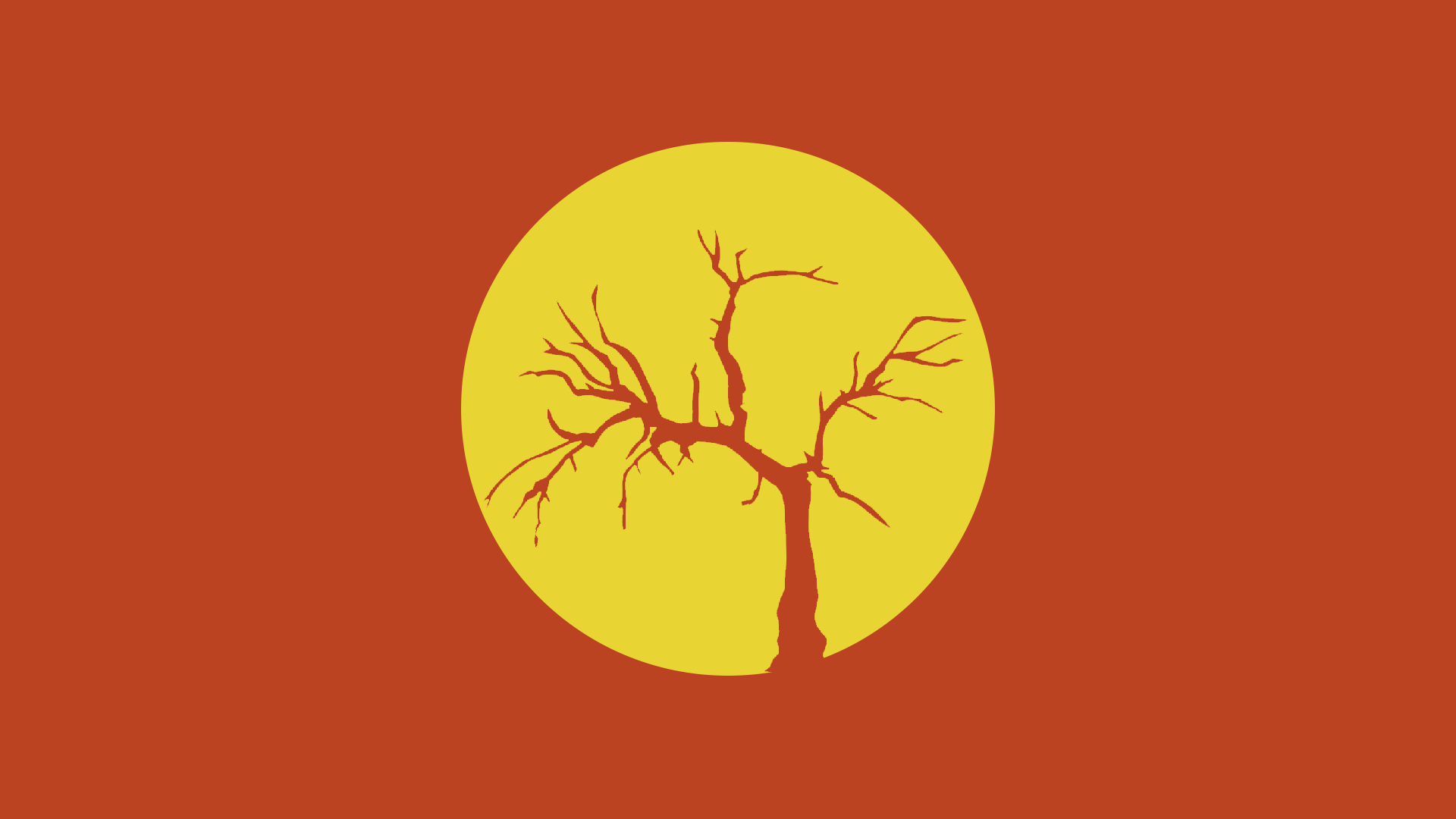 Minimal dead tree wallpaper 1920x1080 hd by connordaa on for Minimal art hd