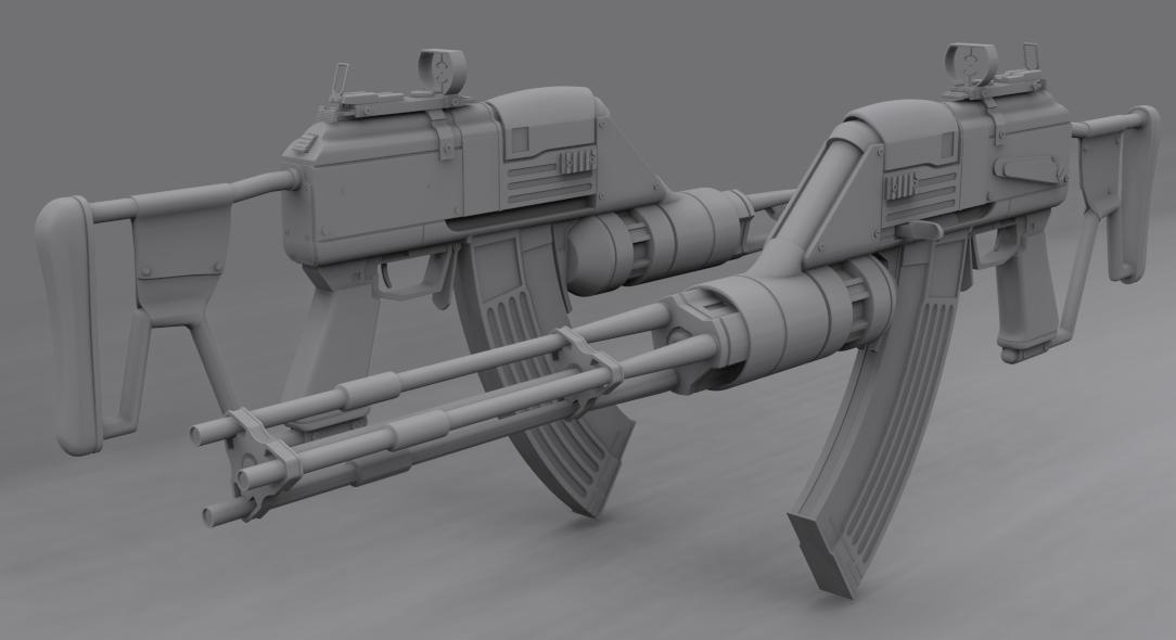 Vladof Assault Rifle - 1 by s620ex1