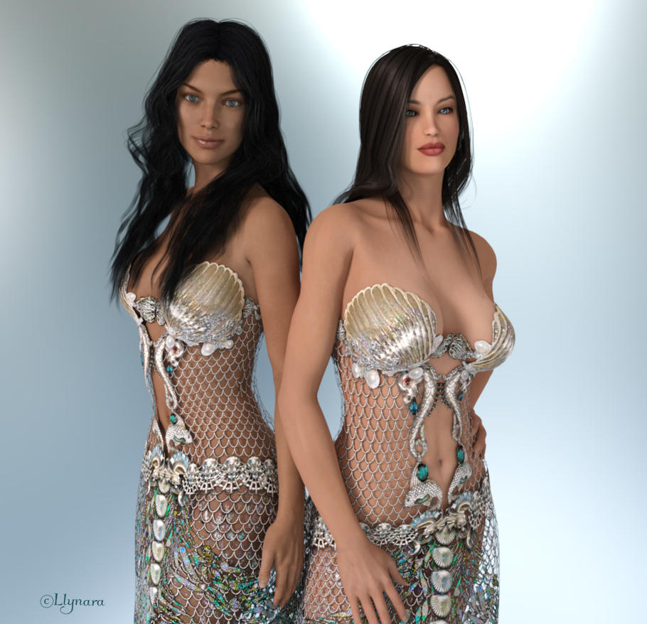 Princesses of Atlantis by llynara
