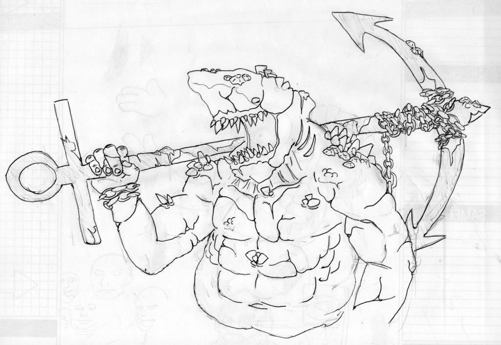 Shark guy by TurboTrex