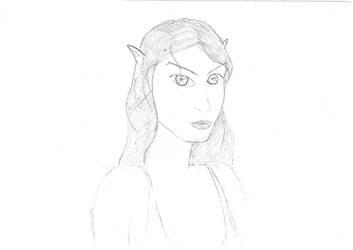 Mirzynia Portrait by Bladedwind