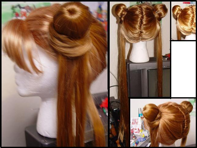 Usagi Wig from Sailor Moon by taiyowigs
