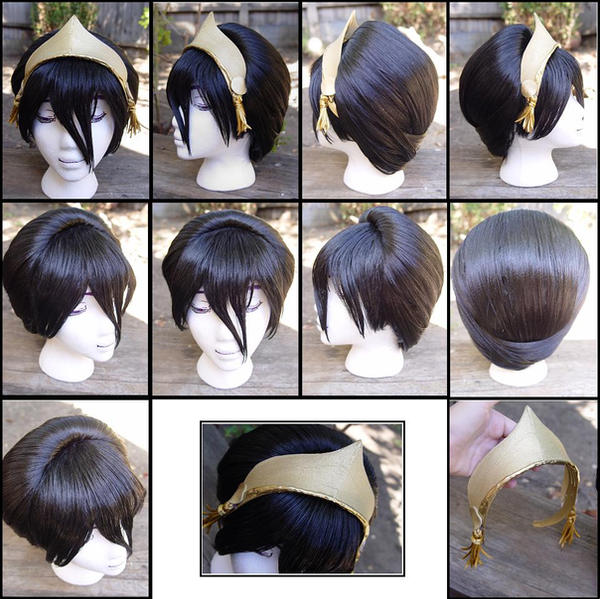 Toph Wig from AVATAR by taiyowigs