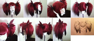 Red Queen Original Wig