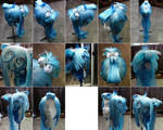 Icy Waterfall Original Design Wig