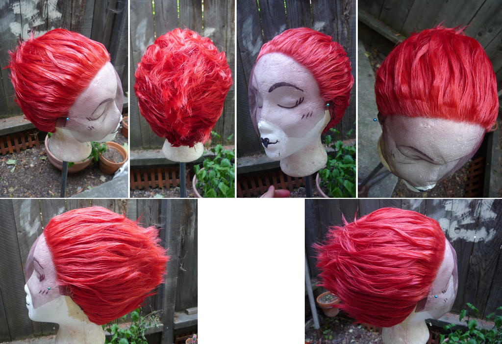 Hisoka Wig from HunterxHunter by taiyowigs