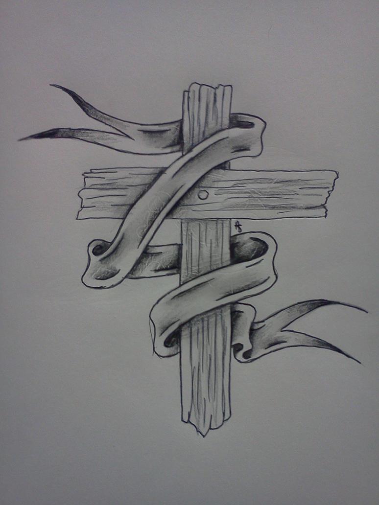 Wooden Cross By Sitting In Silence On Deviantart
