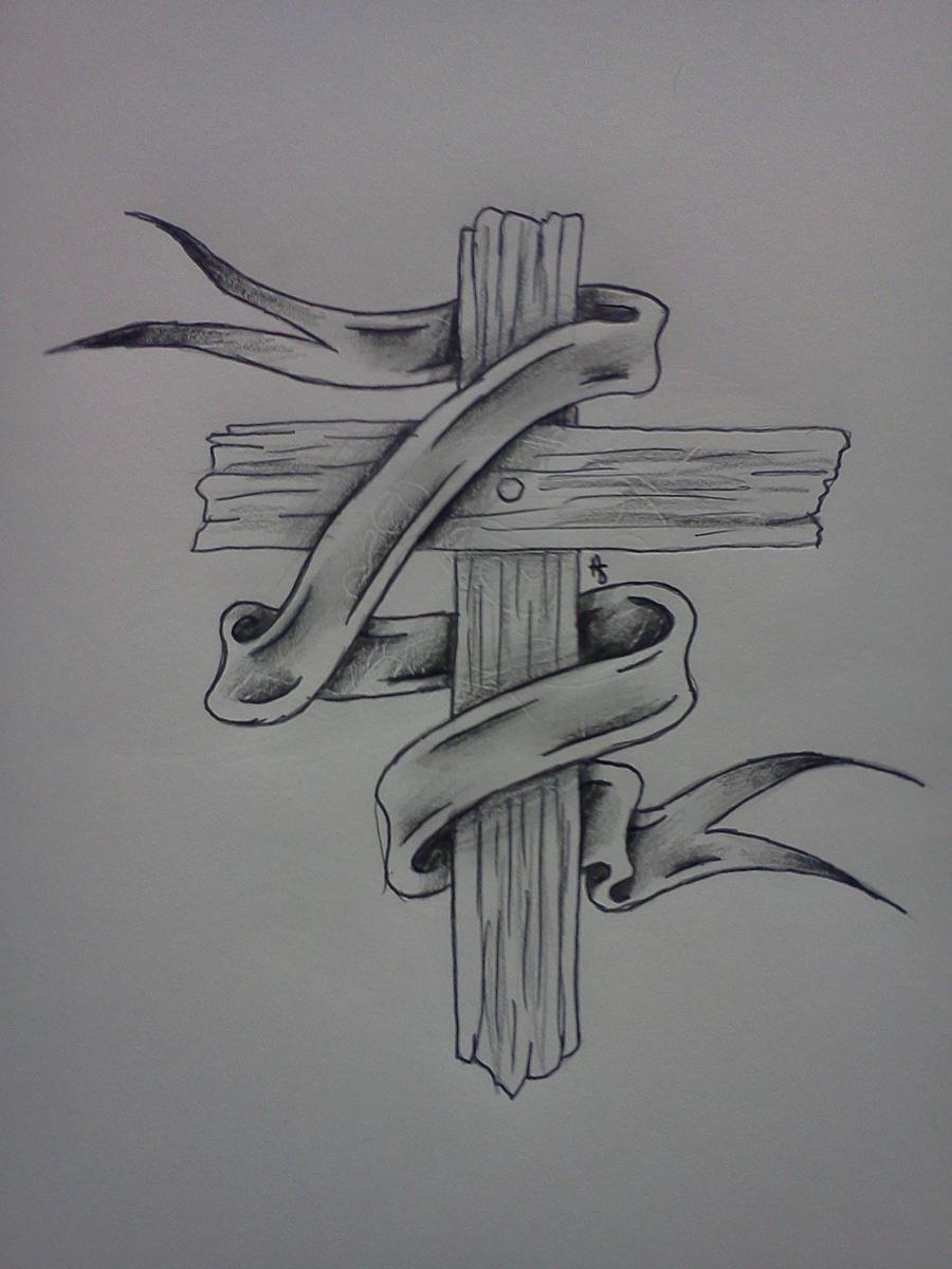 Wooden cross by sitting-in-silence on DeviantArt