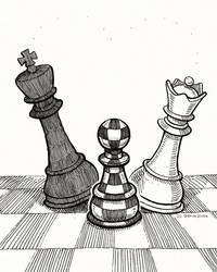 A checkered affair.