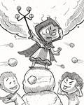 The Snowball Summon by dpereirart