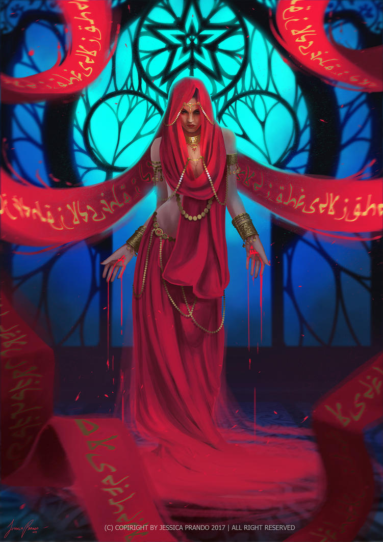 Blood Witch by Jessica-Prando