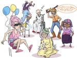 My Little Senior Citizens