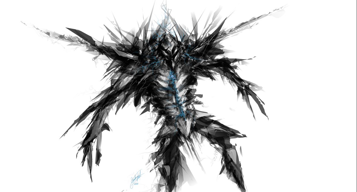 Alchemy Sketch - Robot by JoshuaNel