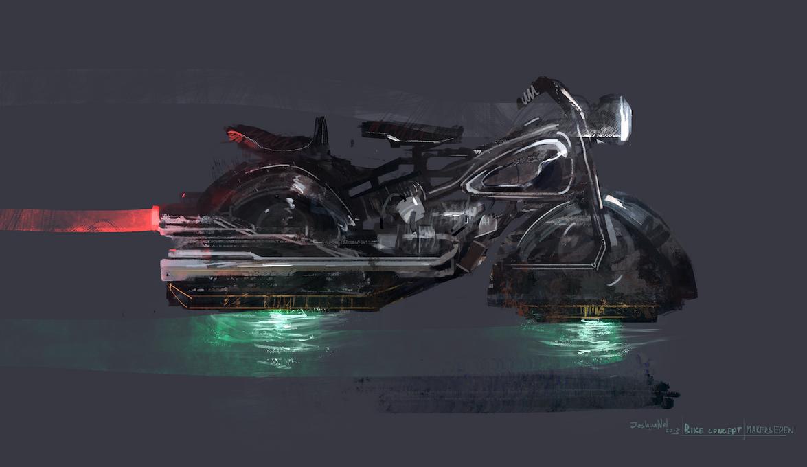 Maker's Eden - Bike Concept by JoshuaNel