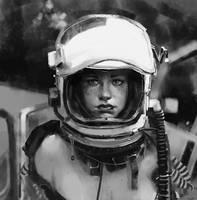 Cosmonaut by JoshuaNel