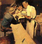 Norman Rockwell Master Study