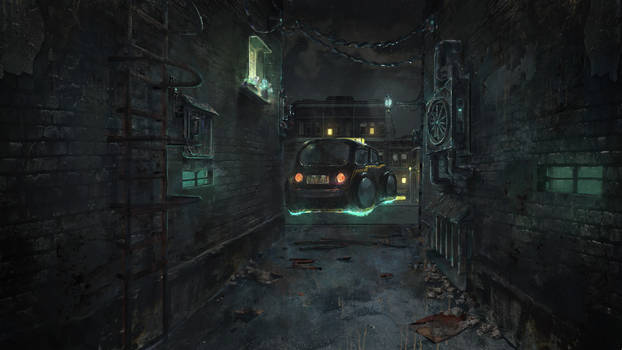 Apartment 1 - Alley