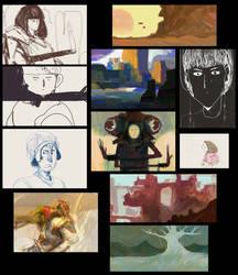 A buncha sketches