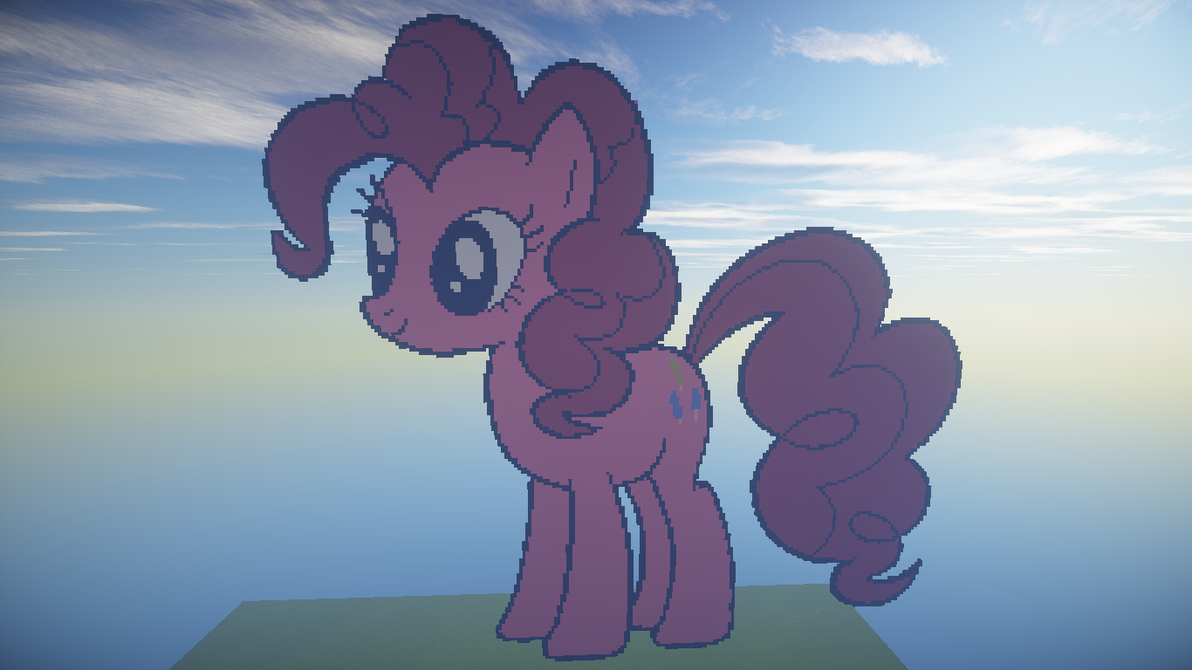 pinkie in minecraft by blazetroymisti1 on deviantart