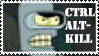 Futurama Stamp by magikalmaiNtenance