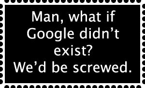 Google Stamp by magikalmaiNtenance