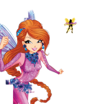 World of Winx Bloom Onyrix Couture Png