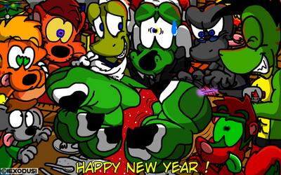Happy new year ! ( 2018-2019 ) by IExodusI