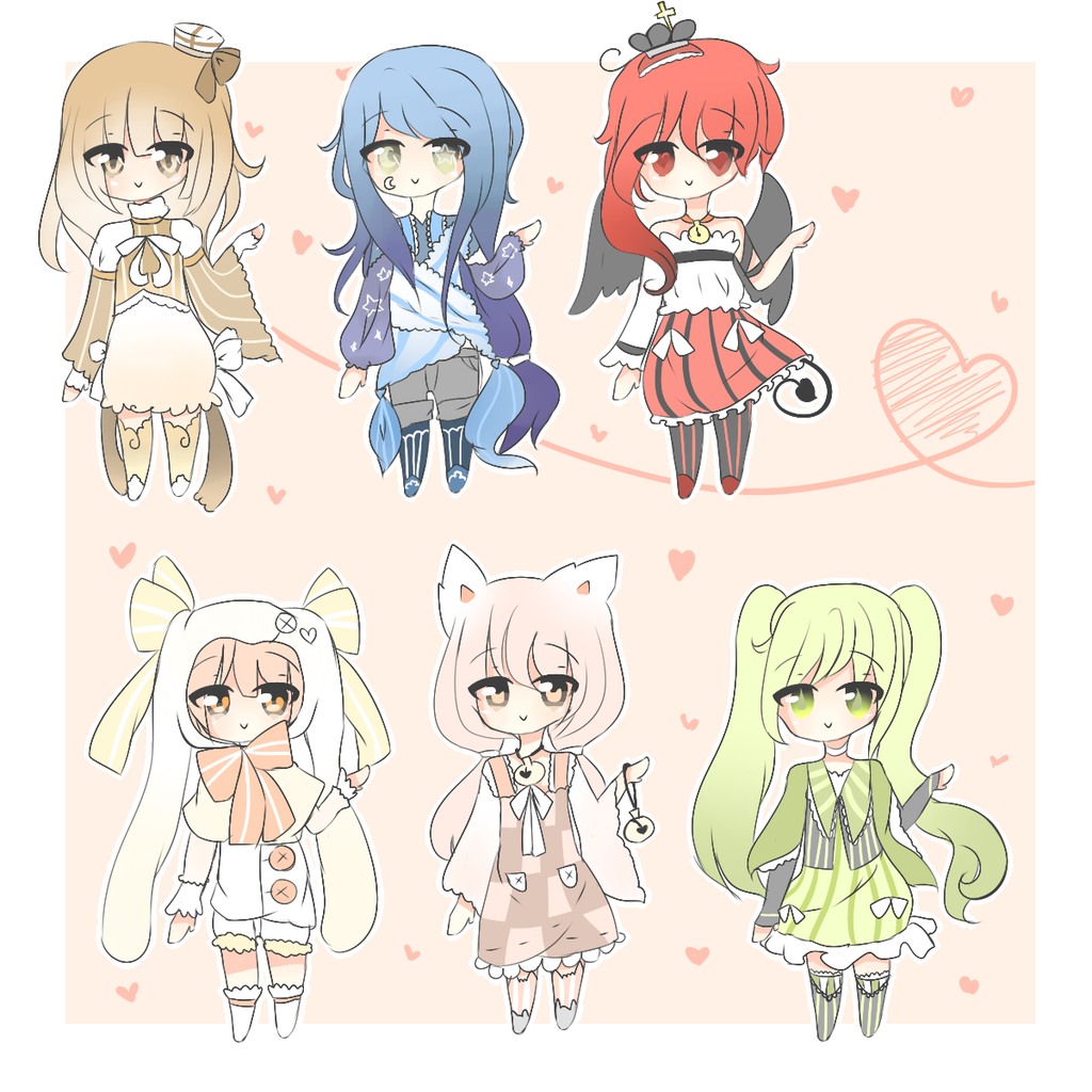 Random Themed Adoptable BATCH 13 by KokoMall