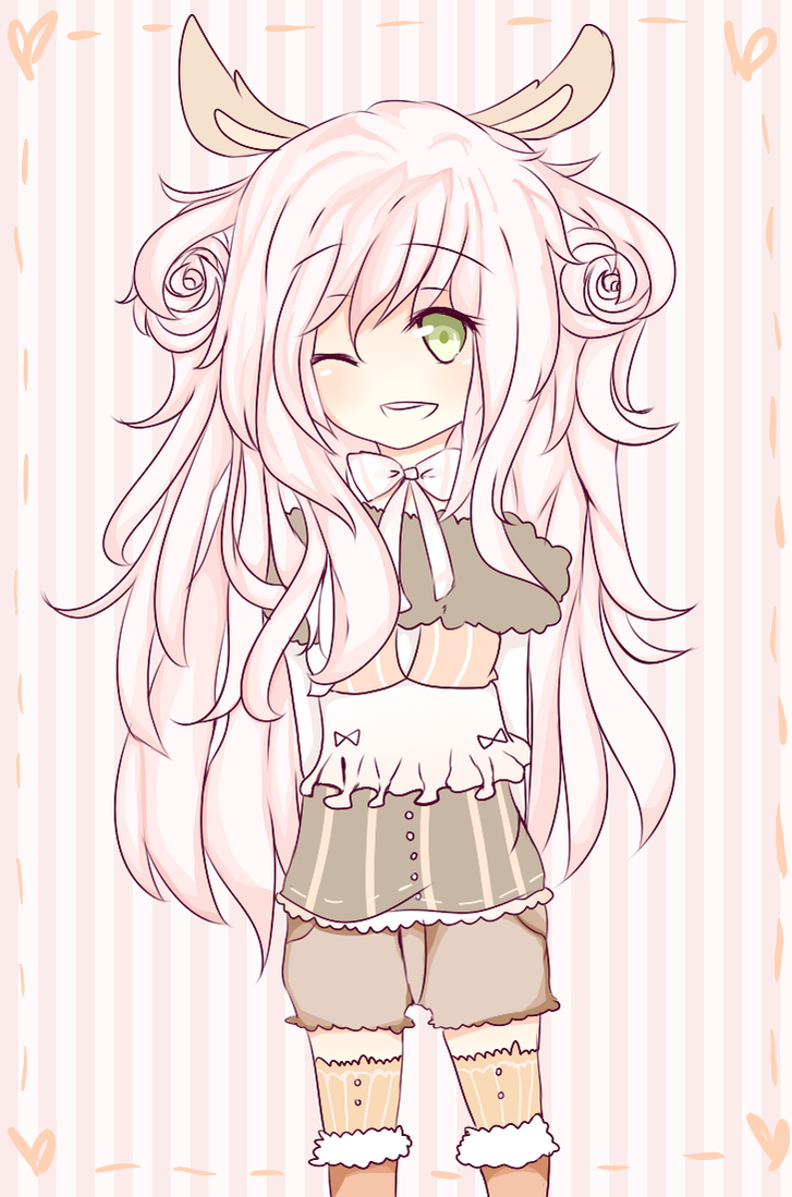 Rosy Bunny Adoptable [AUCTION] by KokoMall