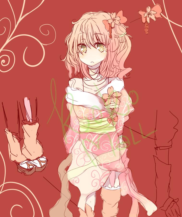 FAIL Sakura Kimono Adoptable [CLOSED] by KokoMall