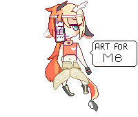 Pixel Doll Commisson 4 - Kaiyasha-Amaterasu by KokoMall