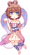 pixel doll commission : shinycation by KokoMall