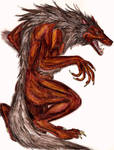 Fear of Snakes: Grey Wolf by Jarahamee