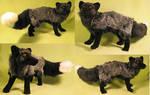 Silver Fox Plush Toy