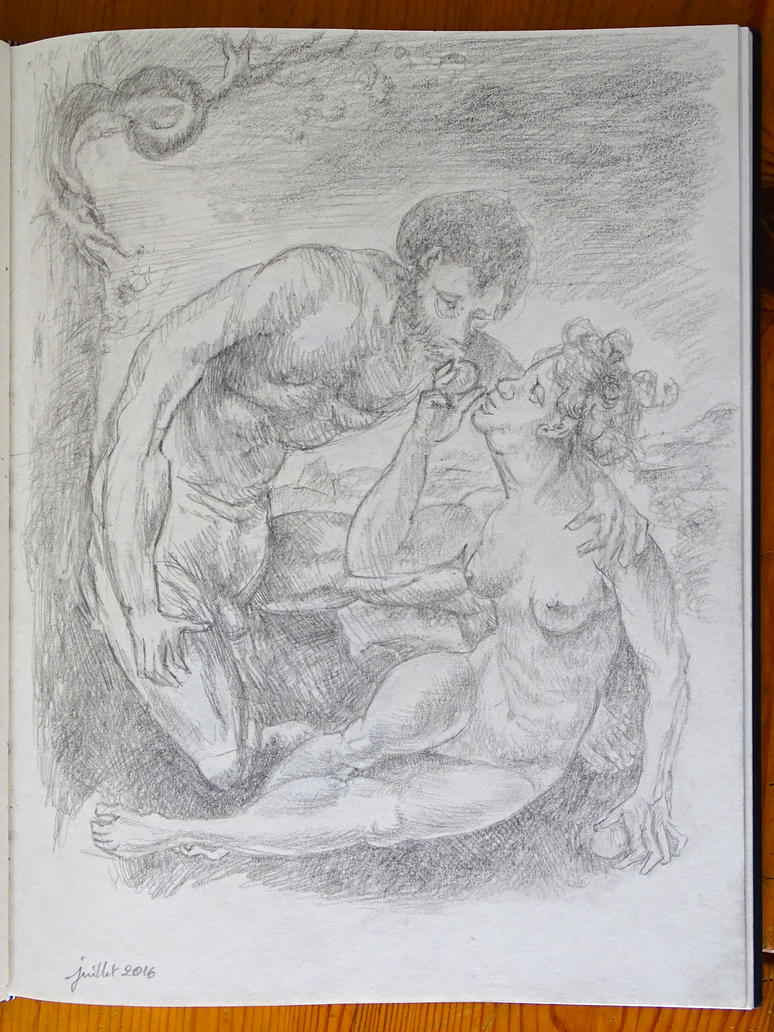 Adam and Eve by in2ni