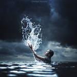 The Waterbender by AchmadKurniawan