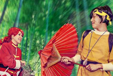 Ranma And Ryoga From Ranma 1 2 By Infinityspir by kitsunepixie