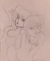 Ranma by kitsunepixie