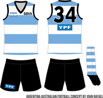 01 - Argentina - Home Uniform