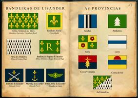 Bandeiras de Lisander / Flags of Lisander (1 of 3) by SirJohnRafael