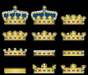 Crowns by SirJohnRafael