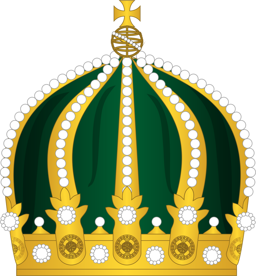 Crown of Peter I of Brazil by SirJohnRafael