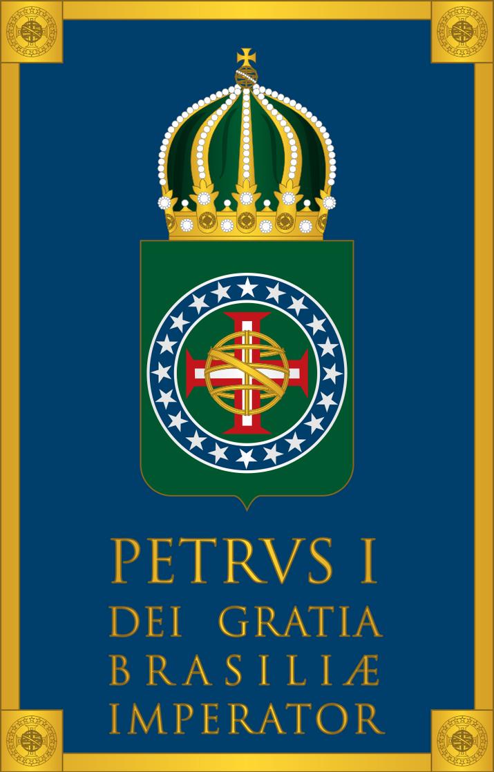Petrus I Dei Gratia Imperator Brasiliae by SirJohnRafael